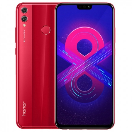 HONOR 8X 64GB DUAL RED EU