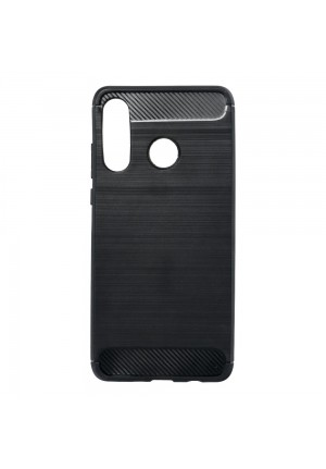 ΘΗΚΗ ΓΙΑ HUAWEI P30 LITE FORCELL CARBON BLACK