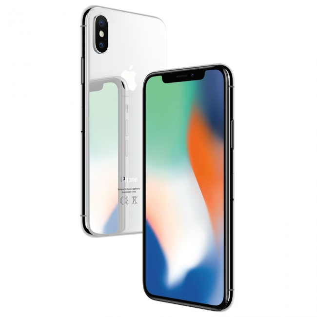 APPLE IPHONE X 64GB SILVER (ΜΕ ΑΝΤΑΠΤΟΡΑ) EU