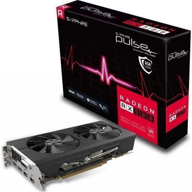 VGA SAPPHIRE RADEON RX580 8GB GDDR5 PULSE 11265-05-20G
