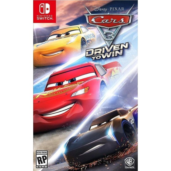 NINTENDO SWITCH CARS 3 (CODE IN A BOX) GAME
