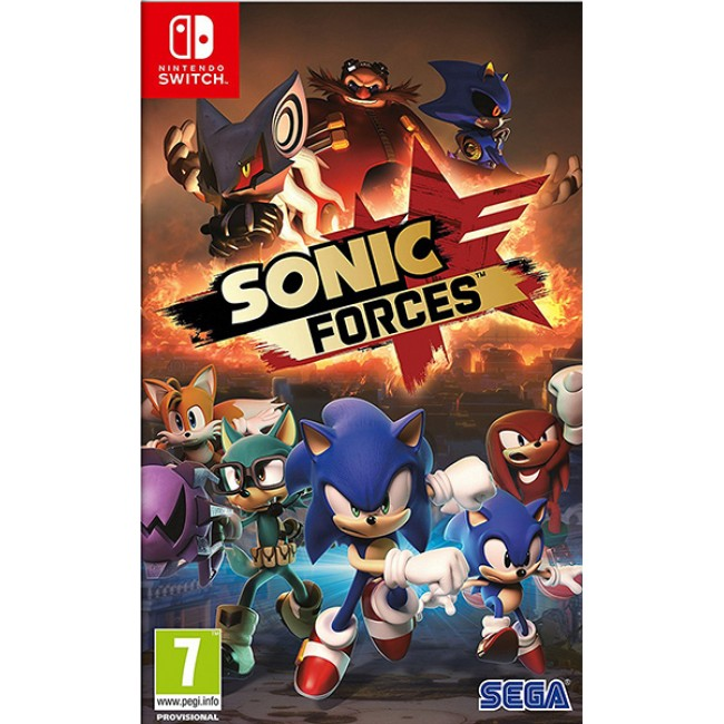 NINTENDO SWITCH SONIC FORCES GAME