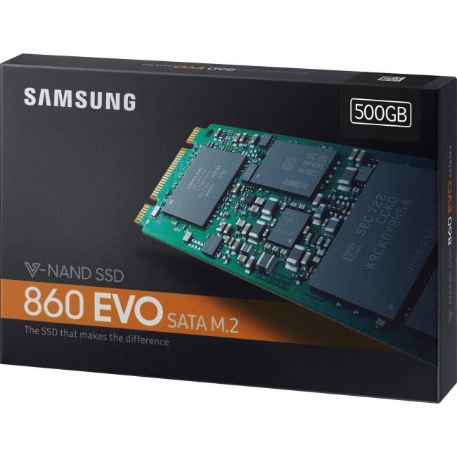 "SSD SAMSUNG 860 EVO 2.5"" M.2 500GB (MZ-N6E500BW)"