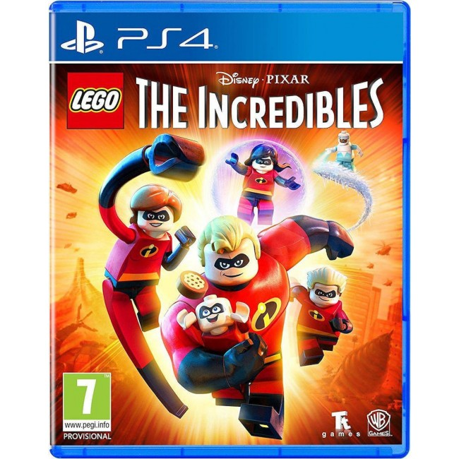 PS4 LEGO INCREDIBLES GAME