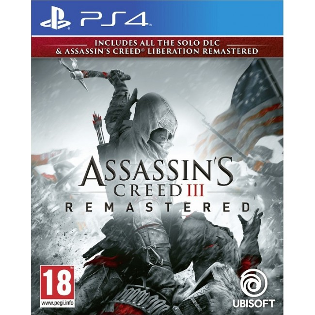 PS4 ASSASSIN'S CREED 3 & LIBERATION REMASTERED