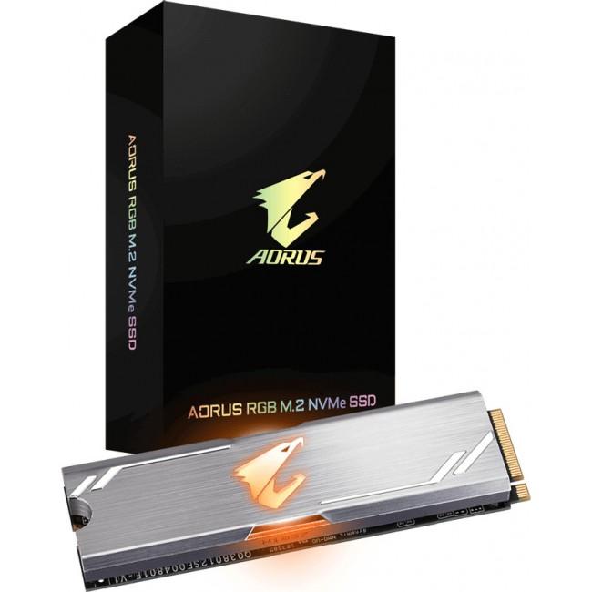 SSD GIGABYTE AORUS 256GB M.2 PCIE RGB GP-ASM2NE2256GTTDR