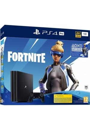 SONY PLAYSTATION 4 PS4 PRO 1TB+FORTNITE VCH 2019 G CHASSIS BLACK EU