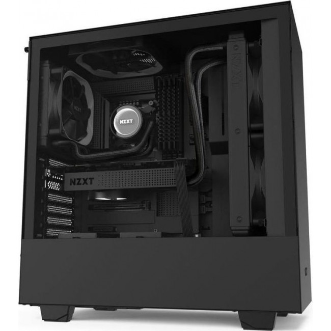 CASE NZXT H510 TOWER TEMPERED GLASS BLACK CA-H510B-B1