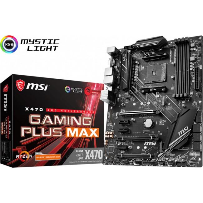 MOTHERBOARD MSI X470 GAMING PLUS MAX AM4 AMD 911-7B86-031