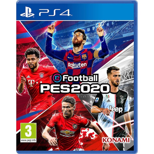 PS4 eFOOTBALL PES 2020 GR GAME
