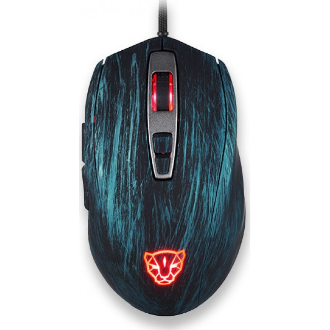 MOUSE MOTOSPEED V60 WIRED GAMING BLUE