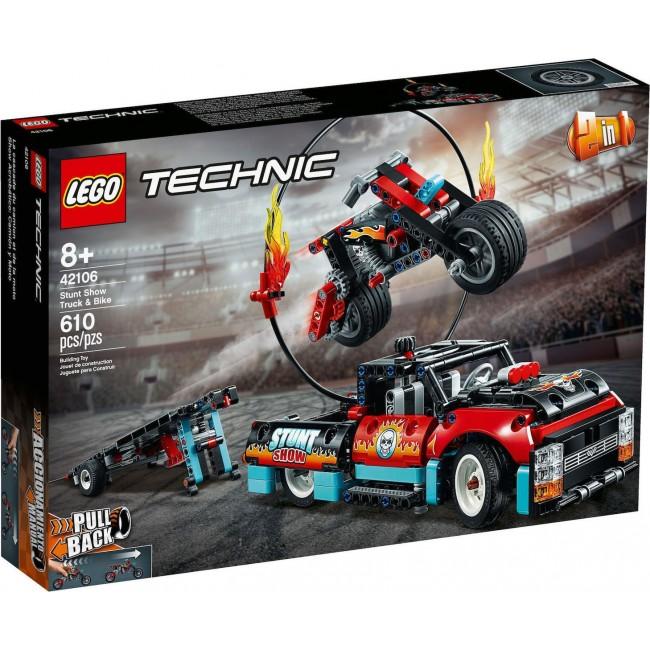 LEGO TECHNIC 42106 STUNT SHOW TRUCK + BIKE