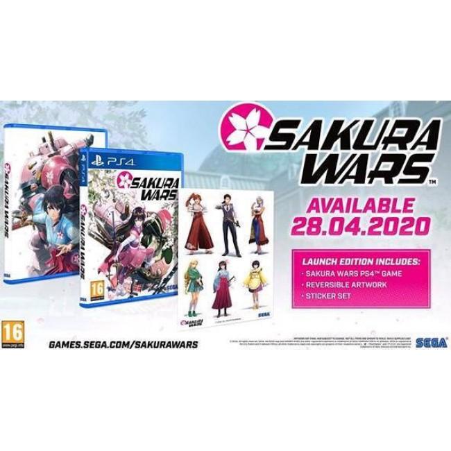 PS4 SAKURA WARS LAUNCH EDITION GAME