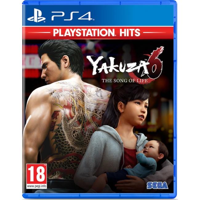 PS4 YAKUZA 6 SONG OF LIFE GAME (HITS)