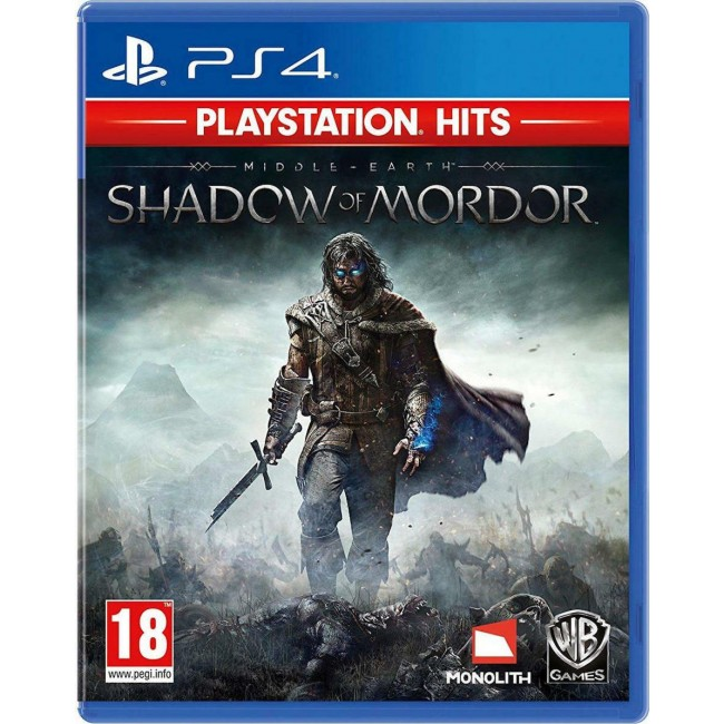 PS4 MIDDLE EARTH SHADOW OF MORDOR (HITS)