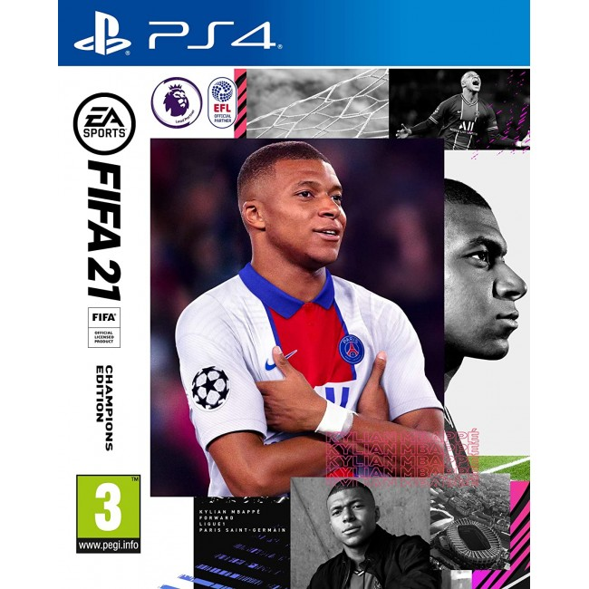 PS4 FIFA 21 CHAMPIONS EDITION GAME