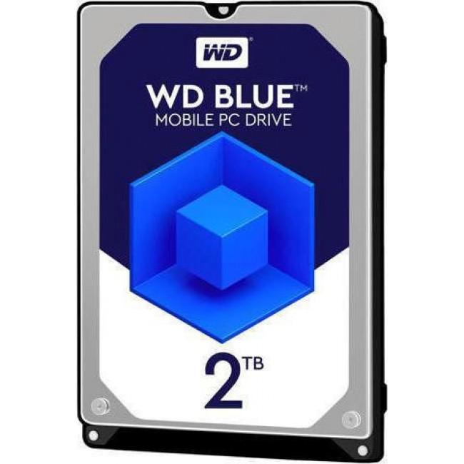 """HDD WD BLUE 2TB 2.5"""" SATA 3 5400rpm (WD20SPZX)"""