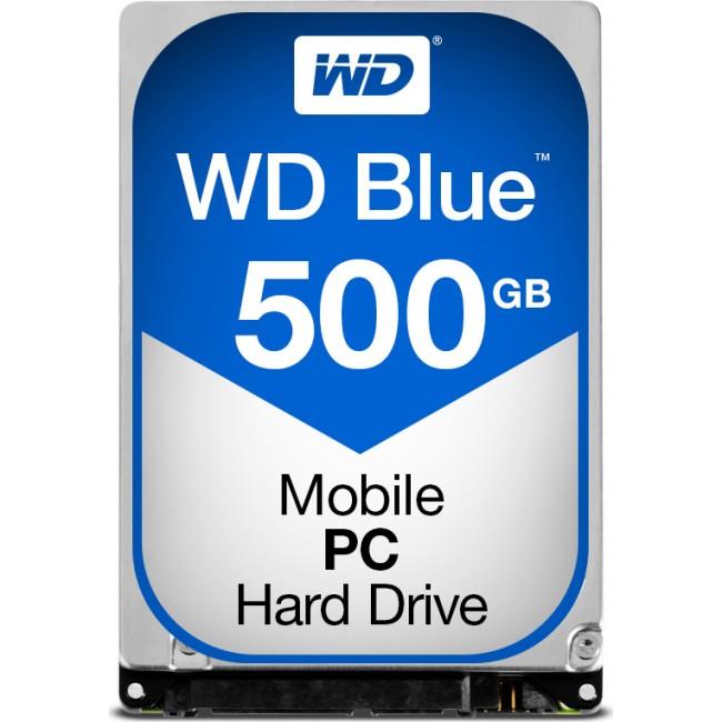 """HDD WD BLUE 500GB 2.5"""" SATA 3 5400rpm (WD5000LPCX)"""