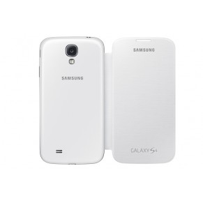 Samsung Flip Cover for Galaxy S4 EF-FI950BW White