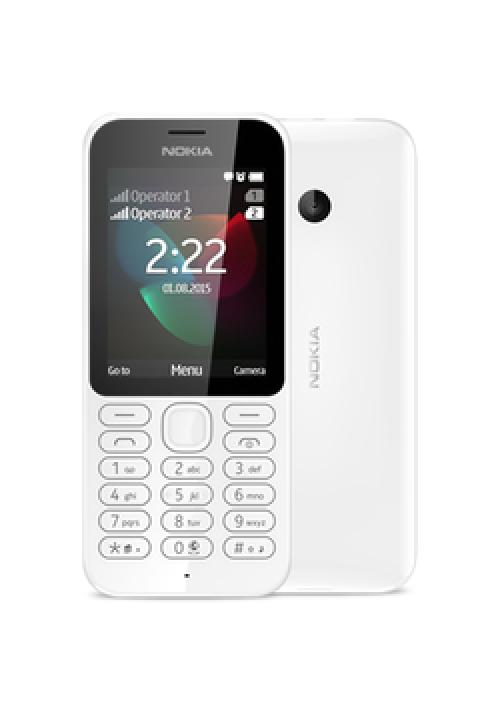 NOKIA 222 DUAL WHITE EU