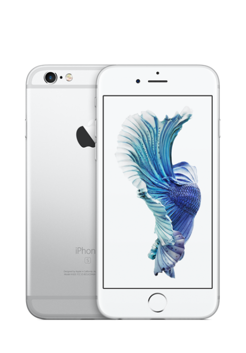 Apple IPhone 6S 16GB SILVER WHITE (ΜΕ ΑΝΤΑΠΤΟΡΑ) EU