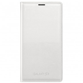 Samsung Flip Cover for Galaxy S5 White