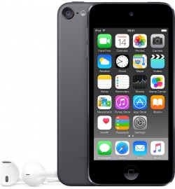 Apple iPod Touch 16GB 6th Generation GRAY (MKH62FD/A) EU