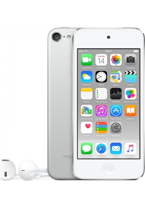 Apple iPod Touch 16GB 6th Generation SILVER (MKH42FD/A) EU
