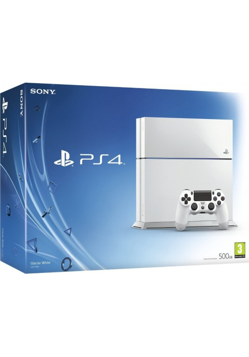 Sony Playstation 4 (PS4) 500GB Glasier White C CHASSIS EU