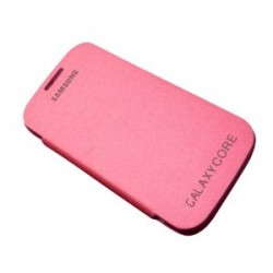 Samsung Flip Cover Galaxy Core Pink