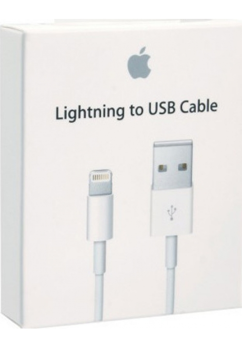 Apple USB to Lightning Cable White (MD818ZM/A) Retail