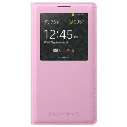 Samsung Flip Cover S-View for Note 3 Pink