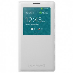 Samsung Flip Cover S-View for Note 3 White