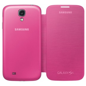 Samsung Flip Cover for Galaxy S4 Pink