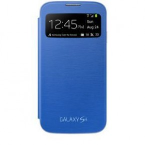 Samsung Flip Cover S-View Galaxy S4 Mini Light Blue