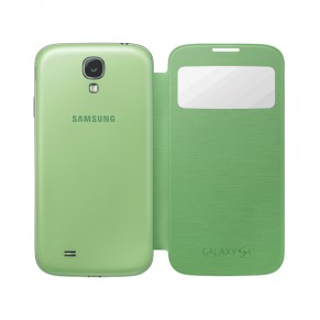 Samsung Flip Cover S-View for Galaxy S4 EF-CI950BV Green