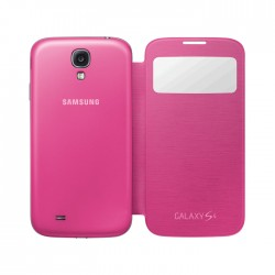 Samsung Flip Cover S-View for Galaxy S4 Pink