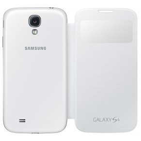Samsung Flip Cover S-View for Galaxy S4 EF-CI950BW White