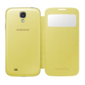 Samsung Flip Cover S-View for Galaxy S4 EF-CI950BC Yellow