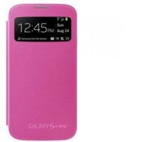 Samsung Flip Cover S-View Galaxy S4 Mini Pink